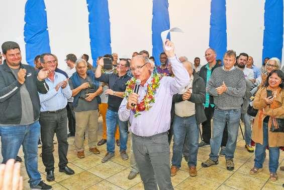 [VIDÉO] Eddie Lecourieux garde la mairie du Mont-Dore
