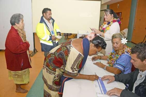 Les élections en images dans le Grand Nouméa