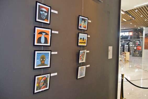 Les œuvres de Didier Jammet visibles au Dumbéa Mall