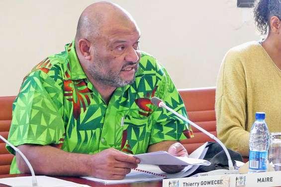 Thierry Gowecee, nouveau maire  de Koné, ses cinq adjoints désignés