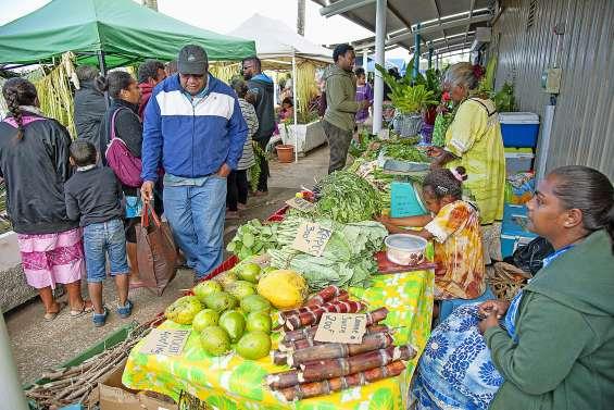 Le grand marché des îles Loyauté fait carton plein