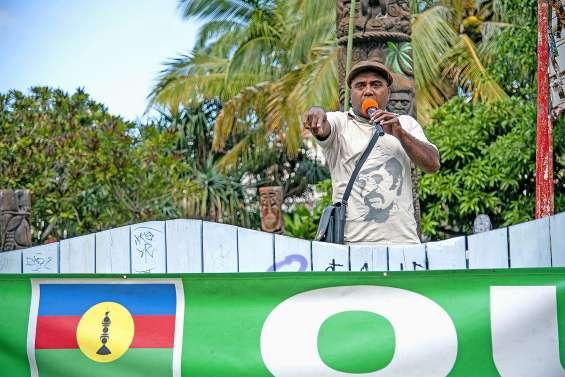 Le FLNKS se mobilise pour le oui au prochain référendum