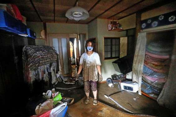 Les inondations au Japon ont fait 34 morts et 14 disparus