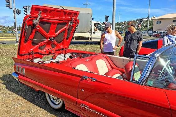 Les voitures de collection font toujours rêver les Calédoniens