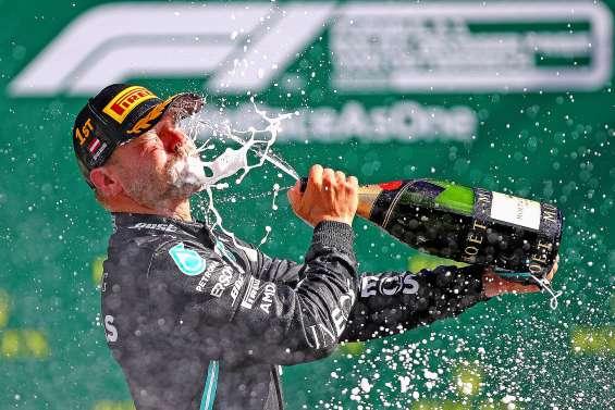 Valtteri Bottas, premier vainqueur de l'année