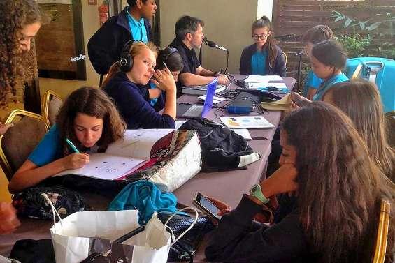 Des collégiens de Baudoux remarqués à l'échelle nationale pour leurs reportages