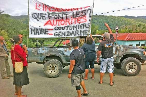 Quatre interpellations après la vague d'incivilités à Ponérihouen