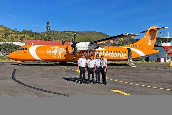 Aircal reprend les rotations sur Touho trois fois par semaine