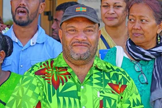 Thierry Gowecee, second maire issu de la tribu de Tiaoué