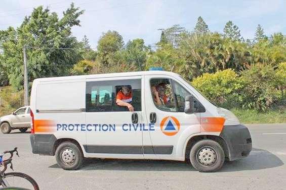 La protection civile caillassée au Mont-Dore