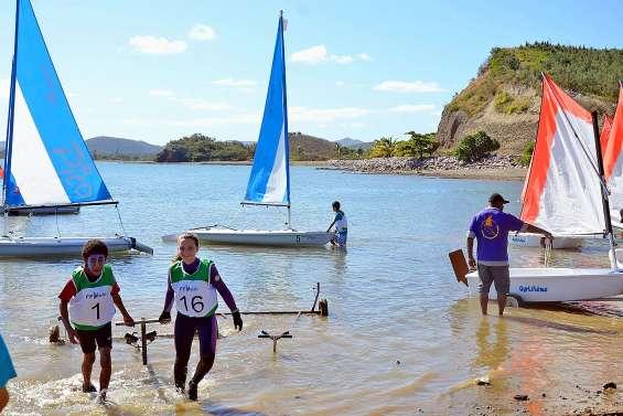 Les jeunes marins du Nord de retour sur le lagon