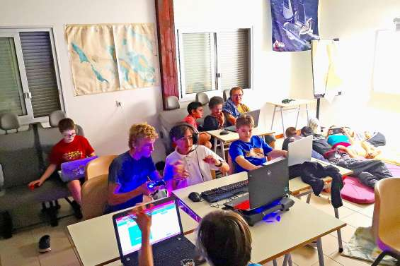 Régates virtuelles nocturnes pour les apprentis marins de Pandop