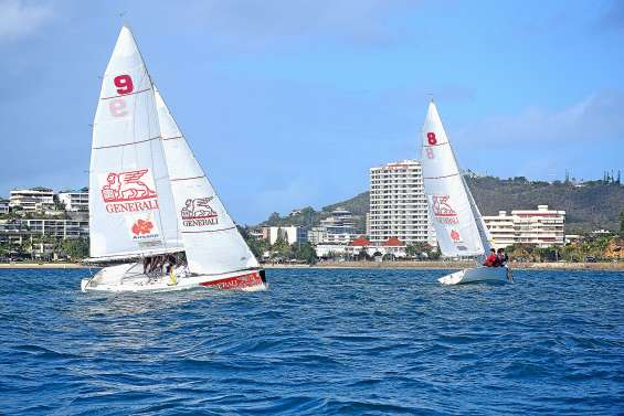 Tom Picot double la mise sur la Aircalin Match Racing Cup