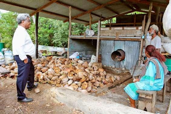 Jacques Lalié veut dynamiser l'économie d'Ouvéa
