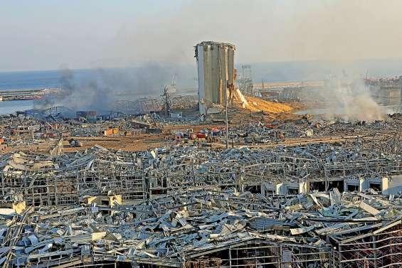 Après les explosions, Beyrouth,  une ville en état de choc