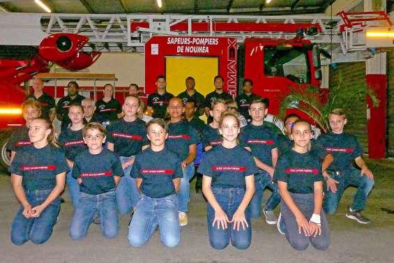 La ville souligne l'engagement des jeunes sapeurs-pompiers
