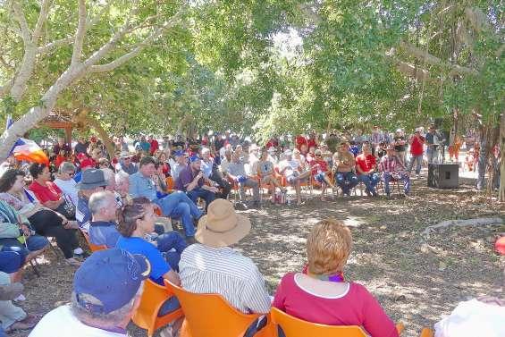 Les partisans du Non en journée broussarde à Gatope