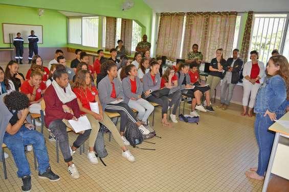 21e Carrefour des métiers au collège Djiet
