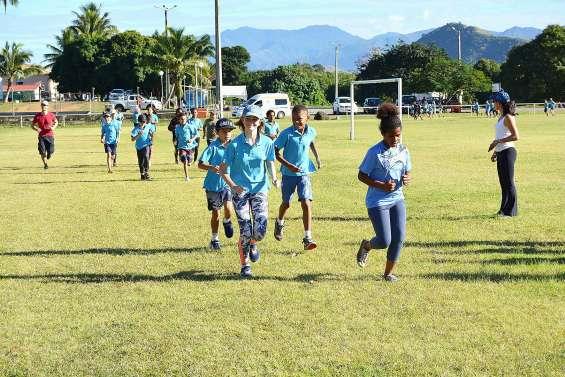 Les élèves de Louise-Michel testent leur endurance