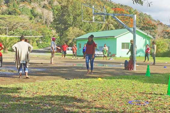 Une semaine de formation au Bafa à la tribu de Grondu