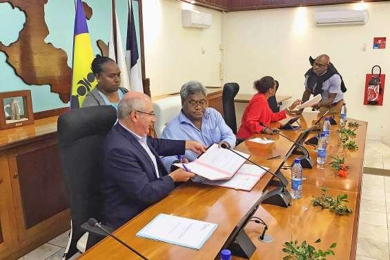 865 millions de contrat de développement pour les îles Loyauté