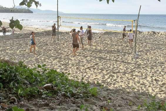 Une journée dédiée au beach-volley et à la pétanque, à Tiéti