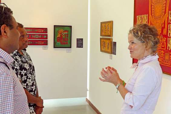 Femmes en or se visite en compagnie d'Anne Keller Bouché