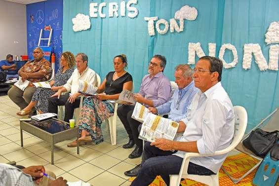 Calédonie ensemble veut renouer le dialogue