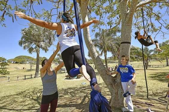 Les jeunes s'initient au sport santé au parc Brunelet