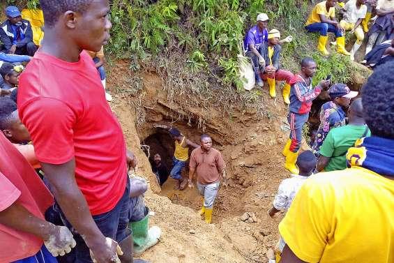 Accident minier en RDC : les premiers corps ramenés à la surface