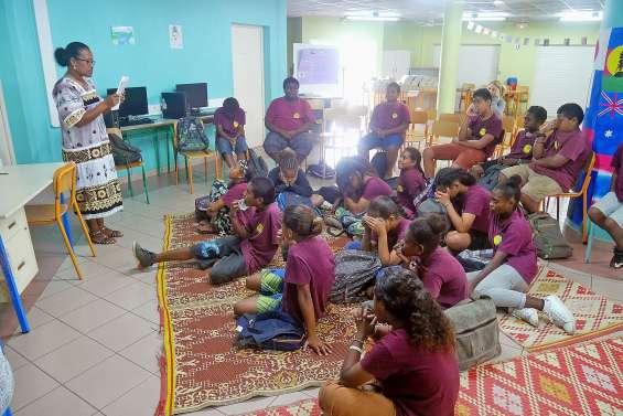 Les collégiens de Kaméré à la découverte des langues