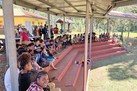 Journée citoyenne au collège de Wani