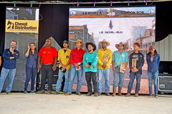 Les résultats des concours  de la Foire de Koumac et du Nord