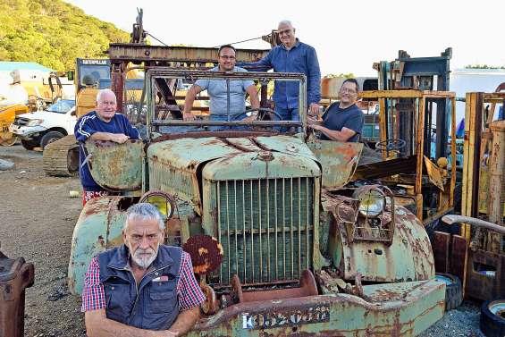 Quand des passionnés redonnent vie  aux vieux engins miniers et agricoles