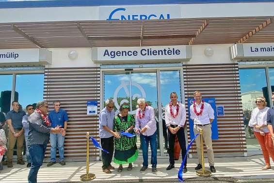 La nouvelle agence Enercal inaugurée au GDPL de Baco