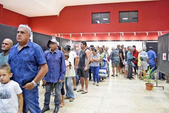 Les électeurs de La Foa, Farino et Sarraméa n'ont pas boudé les urnes