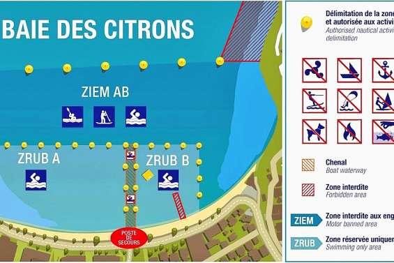 Les règles changent sur le plan d'eau  de la baie des Citrons