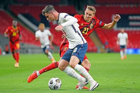 L'Angleterre fait tomber la Belgique