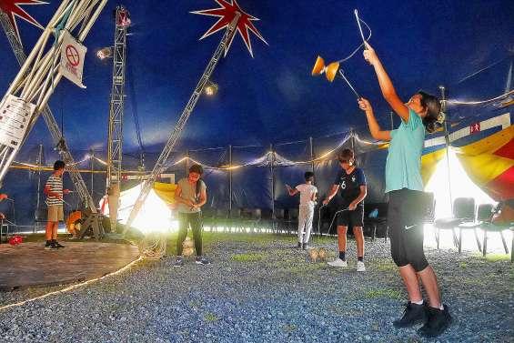 Des vacances à l'école du cirque