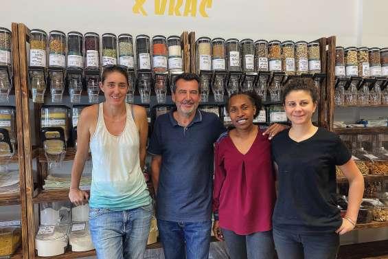 Une nouvelle épicerie « vrac » a ouvert aux Portes-de-Fer