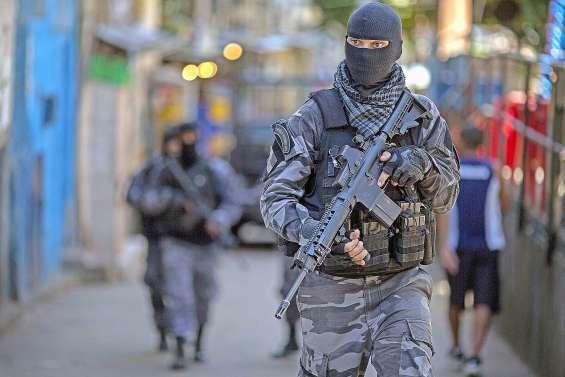 Plus de la moitié de Rio sous le joug de milices