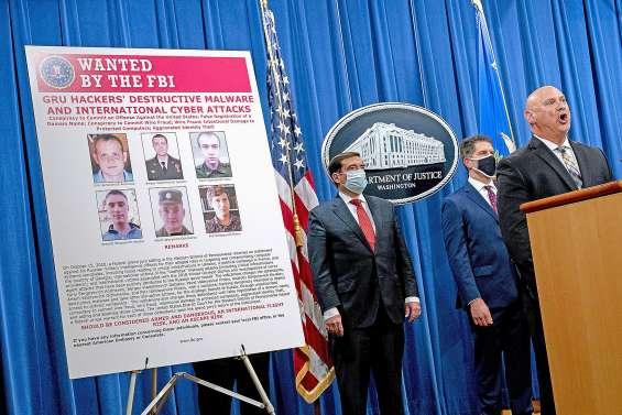 Six agents russes inculpés pour des cyberattaques