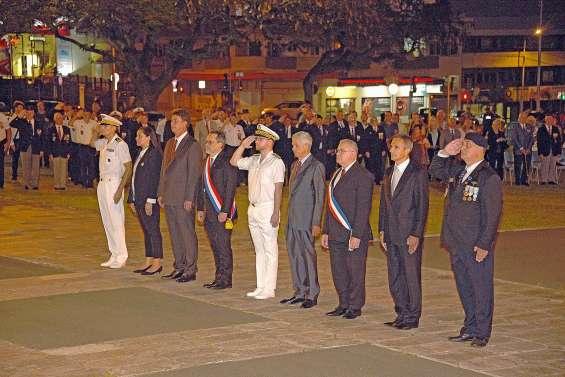 Une cérémonie pour rendre hommage aux soldats morts en Opex