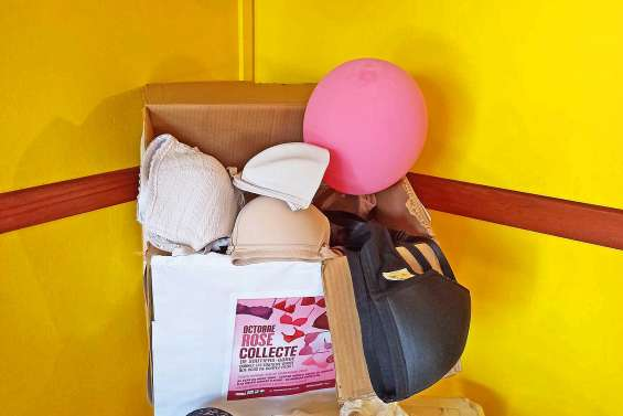Octobre rose : succès pour la première collecte de soutiens-gorges