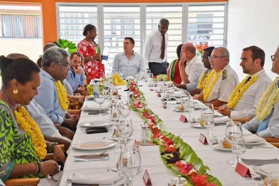 Une matinée à Lifou pour rencontrer les acteurs économiques de la province