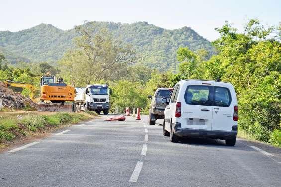 Route de Nakutakoin : circulation alternée jusqu'à la mi-novembre