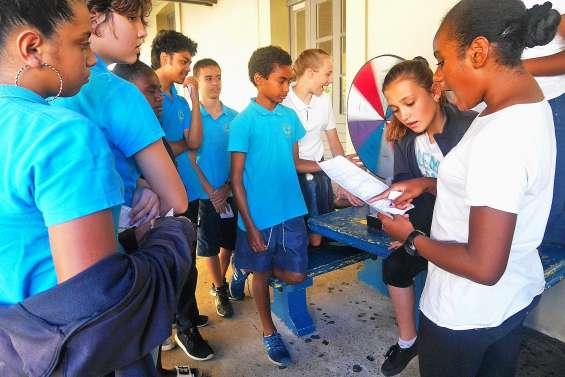 Des élèves de 5e de Baudoux tentent de sauver la planète