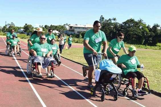 Avec la Course des heureux, « partager notre différence à travers le sport »