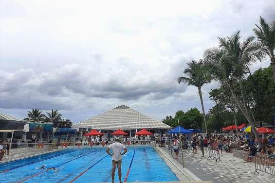 Compétitions de natation au Grand Bleu