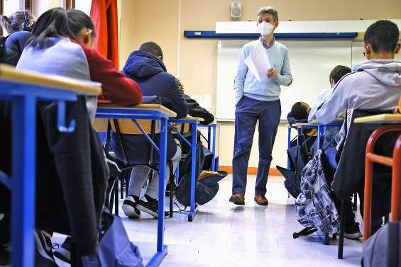 Protocole sanitaire renforcé au lycée,  le nouveau bac « adapté »
